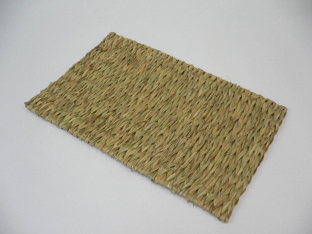 ケージ床に敷いて足腰保護し穴掘り対策 かじれるうさぎのじゅうたん2枚セット うさぎ飼育必需品