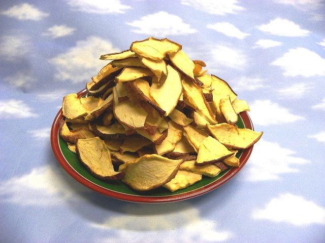 めちゃおいしい りんごポリフェノールたっぷり ごほうび健康デザートりんごドライチップス 汚染の心配ありません うさぎ飼育必需品